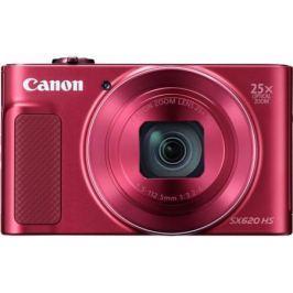 Фотоаппарат Canon PowerShot SX620 HS 20Mp 25xZoom красный 1073C002