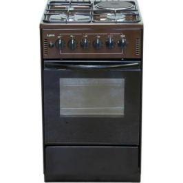 Комбинированная плита Лысьва ЭГ 1/3г01-2у коричневый
