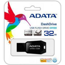 Флешка USB 32Gb A-Data UV100 USB2.0 AUV100-32G-RBK черный