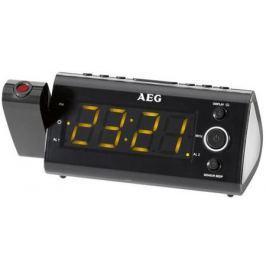 Радиочасы AEG MRC 4121 P black Sensor