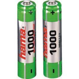 Аккумуляторы Hama H-87088 1000 мАч AAA 2 шт
