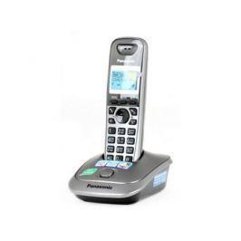 Телефон DECT Panasonic KX-TG2511RUM серый