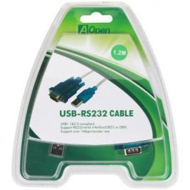 Кабель-адаптер USB 2.0 AM-COM 9pin Aopen ACU804 RS232