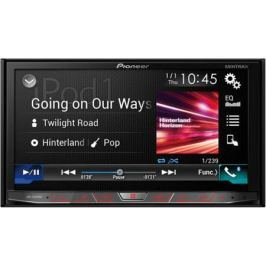 "Автомагнитола Pioneer AVH-X8800BT 7"" 800х480 USB MP3 CD DVD FM RDS 2DIN 4x50Вт черный"