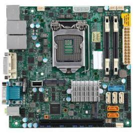 Мат. плата для ПК Supermicro MBD-X11SSV-Q-O Socket 1151 Q170 2xDDR4 1xPCI-E 16x 5xSATAIII mini-ITX