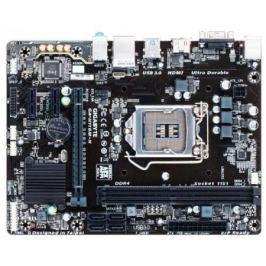 Материнская плата GigaByte GA-H110M-H Socket 1151 H110 2xDDR4 1xPCI-E 16x 2xPCI-E 1x 4 mATX Retail