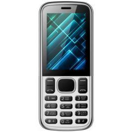 Мобильный телефон Vertex D510 серебристый черный