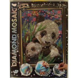 Набор креативного творчества ДАНКО-ТОЙС Diamond Mosaic - Малая панда от 9 лет