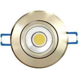 Светодиодный встраиваемый светильник (08788) Uniel 4500K ULM-R31-5W/NW IP20 Gold