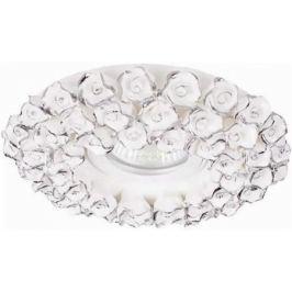 Встраиваемый светильник Donolux N1628-White+silver