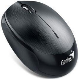 Мышь беспроводная Genius NX-9000BT стальной металлик чёрный Bluetooth