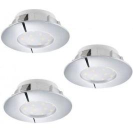 Встраиваемый светодиодный светильник Eglo Pineda 95808