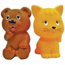 """Игрушка для купания для ванны Жирафики """"Мишка и котенок"""" 681270"""
