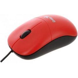 Мышь проводная Genius DX-135 красный USB