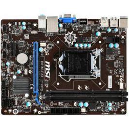 Материнская плата MSI H81M-E33 Socket 1150 H81 2xDDR3 1xPCI-E 16x 1xPCI-E 1x 2xSATA II 2 mATX OEM
