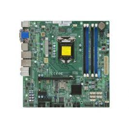 Мат. плата для ПК Supermicro MBD-X10SLQ-O Socket 1150 Q87 4xDDR3 1xPCI-E 16x 1xPCI-E 1x 1xPCI-E 4x 6xSATAIII mATX Retail