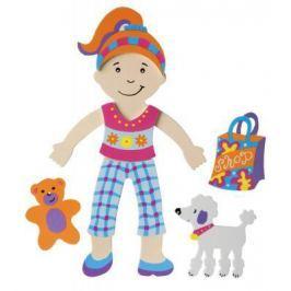 Набор стикеров для ванны Alex Одень куклу 806