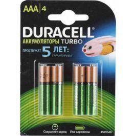 Аккумулятор Duracell HR03-4BL 850 mAh AAA 4 шт