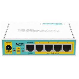Маршрутизатор Mikrotik hEX PoE lite 5x10/100 Mbps RB750UPr2