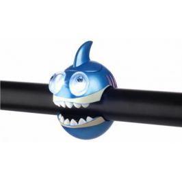 Фонарик Crazy Stuff SHARK light с брелком голубой 320240