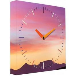 Часы настенные FotonioBox Закат PB-004-35 розовый