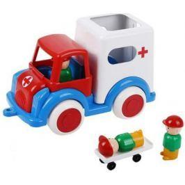 Машина Форма Скорая помощь ДС разноцветный 27.5 см С-61-Ф