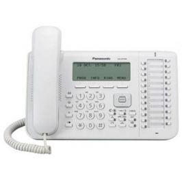 Телефон IP Panasonic KX-NT546RU белый