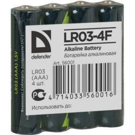 Батарейки Defender 56001 AAA 4 шт
