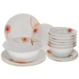 Набор посуды Mayer&Boch 24101 19 предметов белый с рисунком