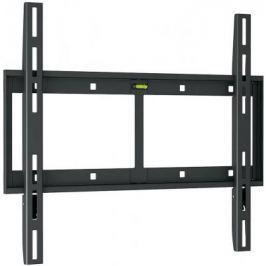 "Кронштейн Holder LCD-F4610-B черный для ЖК ТВ 32-65"" настенный от стены 23мм наклон 0° VESA 400x400 до 60 кг"