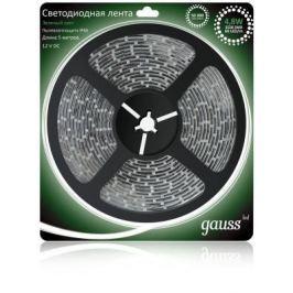 Светодиодная лента Gauss 5M зеленый 4,8W IP66 EB311000605