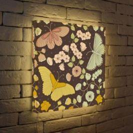 Лайтбокс Бабочки 45x45-009