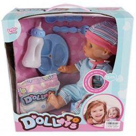 Пупс Shantou Gepai Doll Toys 29 см со звуком с аксессуарами LD9708B