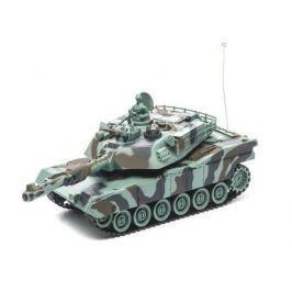 Танк на радиоуправлении Пламенный Мотор Abrams M1A2 (США) 1:28 пластик от 4 лет камуфляж 87556