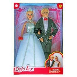 Игровой набор кукол Defa Lucy Свадьба, кор 8305