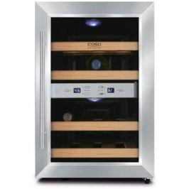 Винный шкаф CASO WineDuett 12 620 Caso Design by Braukmann Gmbh серебристый