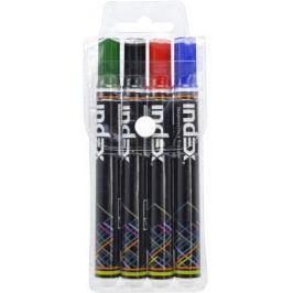 Набор маркеров для доски Index IMWR100/4 3 мм 4 шт сменные чернила