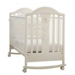 Кроватка -качалка Pali Prestige Classic (белый)