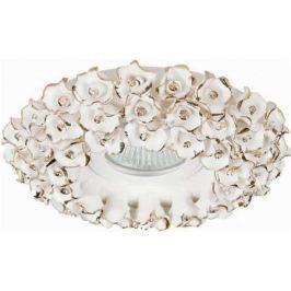 Встраиваемый светильник Donolux N1628-White+gold