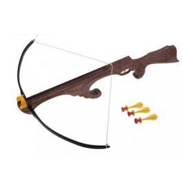 Арбалет Bauer Викинг с тремя стрелами на присосках коричневый