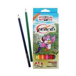Набор цветных карандашей Koh-i-Noor ПТИЦЫ 24 шт 17.5 см 3554/24 1 KS 3554/24 1 KS