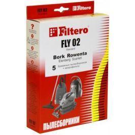 Пылесборник Filtero FLY 02 Standard двухслойные 5 шт + 1 фильтр