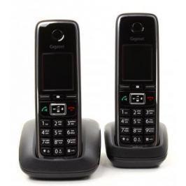 Р/Телефон Dect Gigaset C530 DUO черный 2 трубки