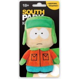 Мягкая игрушка герой мультфильма 1TOY Южный парк - Кайл со звуком текстиль разноцветный 12 см Т57486