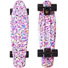 "Скейтборд Y-SCOO Fishskateboard Print 22"" RT винил 56,6х15 с сумкой Rhombus 401G-R"