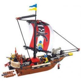 Конструктор SLUBAN быстроходный пиратский корабль M38-B0279 226 элементов