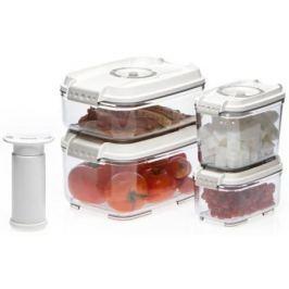 Набор контейнеров для вакуумного упаковщика Status VAC-REC-Smaller белый