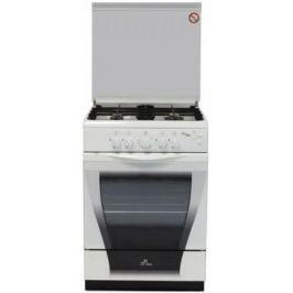 Газовая плита De Luxe 606040.04Г (КР) Ч/Р белый