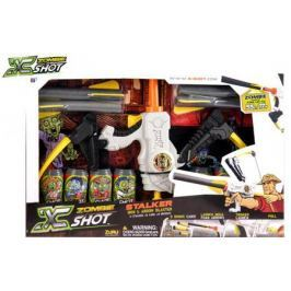 Лук X-shot Зомби (6 банок, 4 стрелоракеты) белый 01165