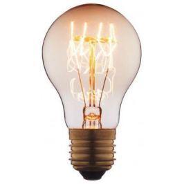 Лампа накаливания E27 40W груша прозрачная 7540-T